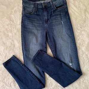 Kut From The Cloth High Rise Skinny Jeans sz 4